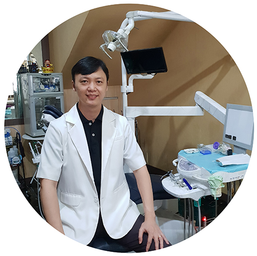 foto drg willy di klinik cw dental care